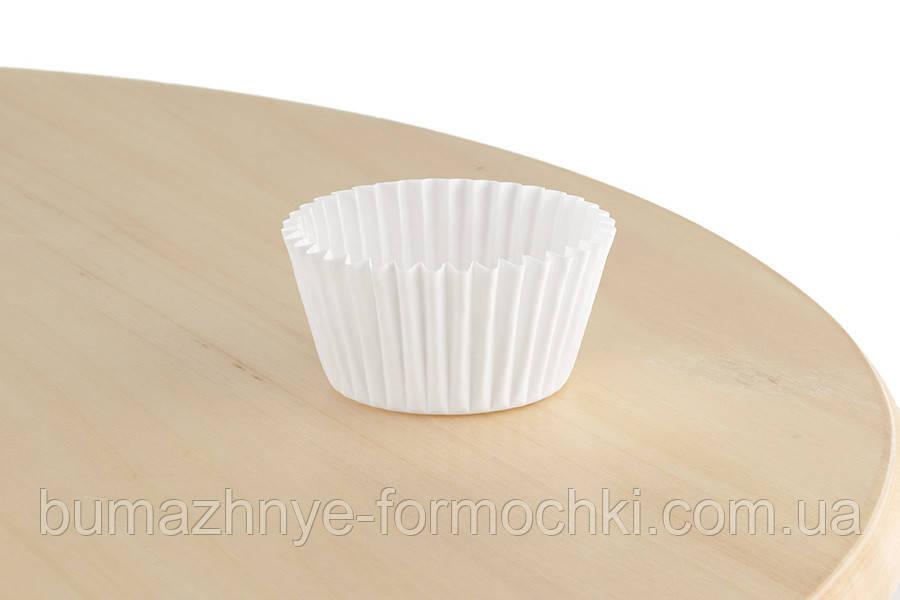 Паперові формочки для випічки кексів, 45х35 мм