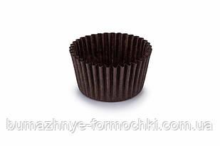 Формы для кексов из коричневого пергамента, 45х35 мм