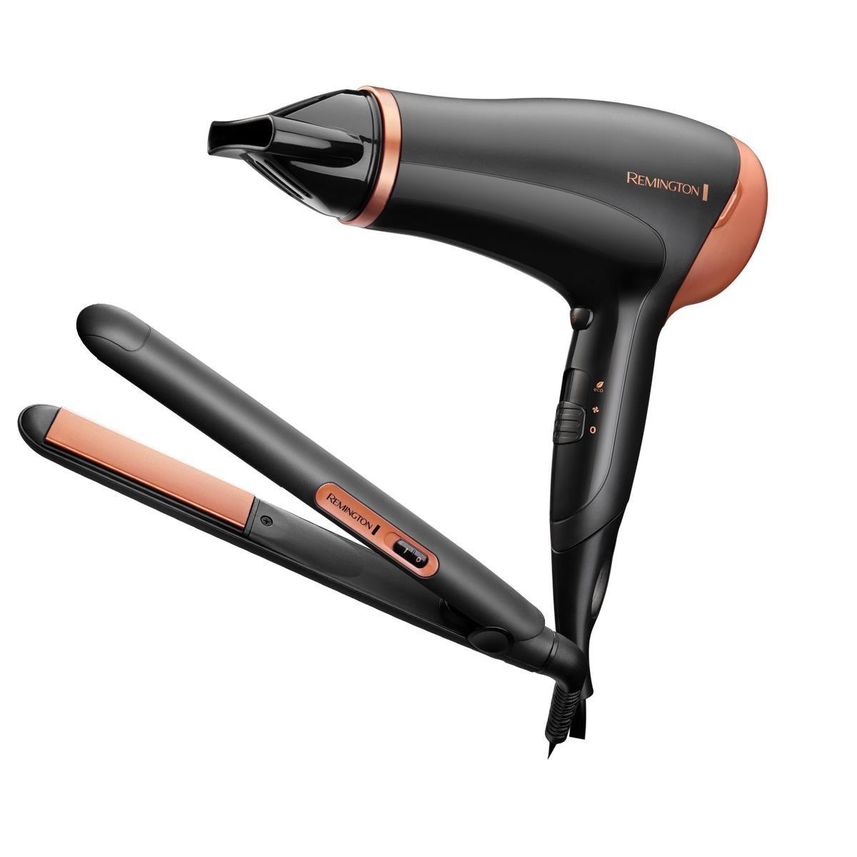 Фен + випрямляч для волосся Remington D3012GP Haircare Giftpack