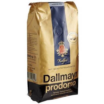 Кофе в зернах Dallmayr Prodomo  500 г из эфиопских сортов кофе. Арабика.