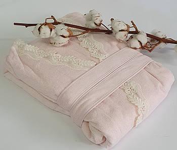 Халат женский Maison D'or Dina Longtemps Rose Color L