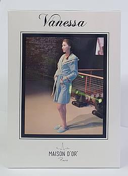 Халат женский Maison D'or Vanessa Beige S