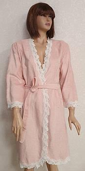 Халат женский Maison D'or Dina Розовый S