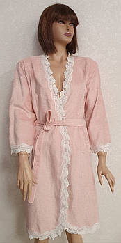 Халат женский Maison D'or Dina Розовый M