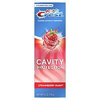 Детская зубная паста Crest Kids Cavity Protection Strawberry Rush