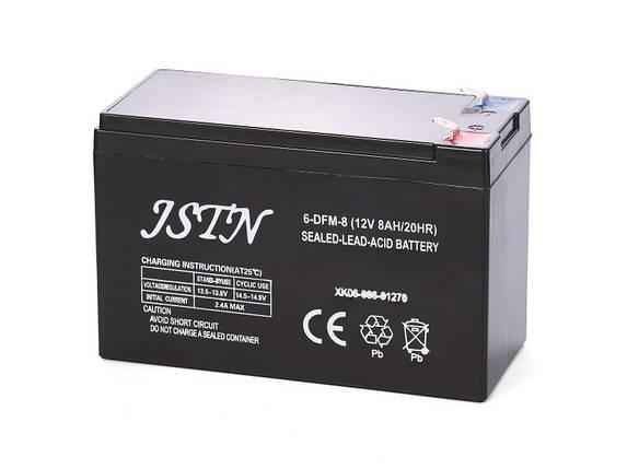 Аккумулятор 12В 8Аh Sturm 3015-20-G7, фото 2
