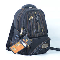 Рюкзак з брезенту Gold Be чорний