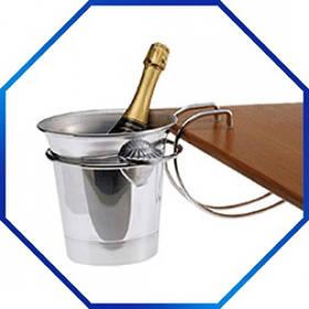 Держатель ведра для шампанского, нержавеюшая сталь Pro Master арт. 52225