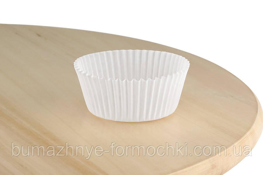 Паперові формочки для випічки кексів, 45х30 мм