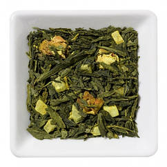 Зелений чай з куркумою і ананасом Золота Галактика Space Coffee 50 грам