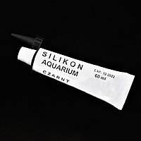 Клей для аквариума Silikon Aquarium Klej 60 мл, черный
