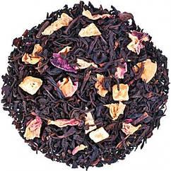 Чорний і зелений чай з ананасом і пелюстками троянд 1001 зірка Space Coffee 50 грам