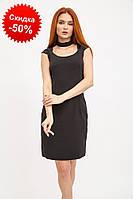 Женское вечернее платье хлопок 104R030 женская одежда (L M S) цвет Черный