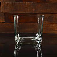 Квадратний свічник 18 х 18 х 18 см (УЦІНКА)