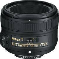 Об'єктив Nikon Nikkor AF-S 50mm f/1.8G (JAA015DA) Nikon AF-S, 58 мм, офіційна гарантія