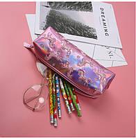 Единорог пенал розовый, фото 1