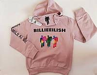 Стильное худи для девочки Billie Eilish. Турция