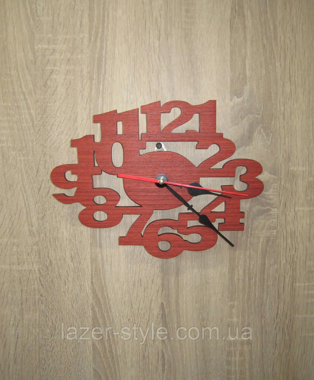 Авторские часы  римские цифры