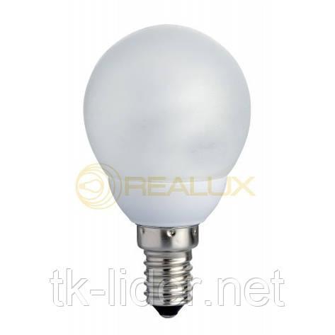 Энергосберегающая лампа Realux Globus 24W E27 6400k, фото 2