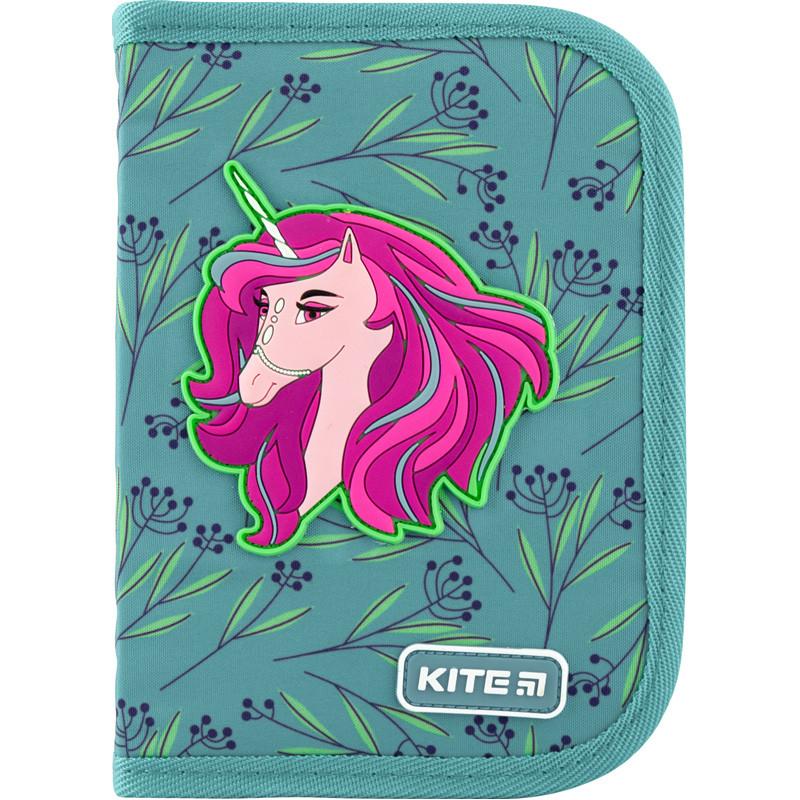 """Пенал Kite 1 отделение, пустой, 2 отворота, """"Lovely Sophie"""" K20-622-1, 609698"""
