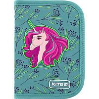 """Пенал Kite 1 отделение, пустой, 2 отворота, """"Lovely Sophie"""" K20-622-1, 609698, фото 1"""