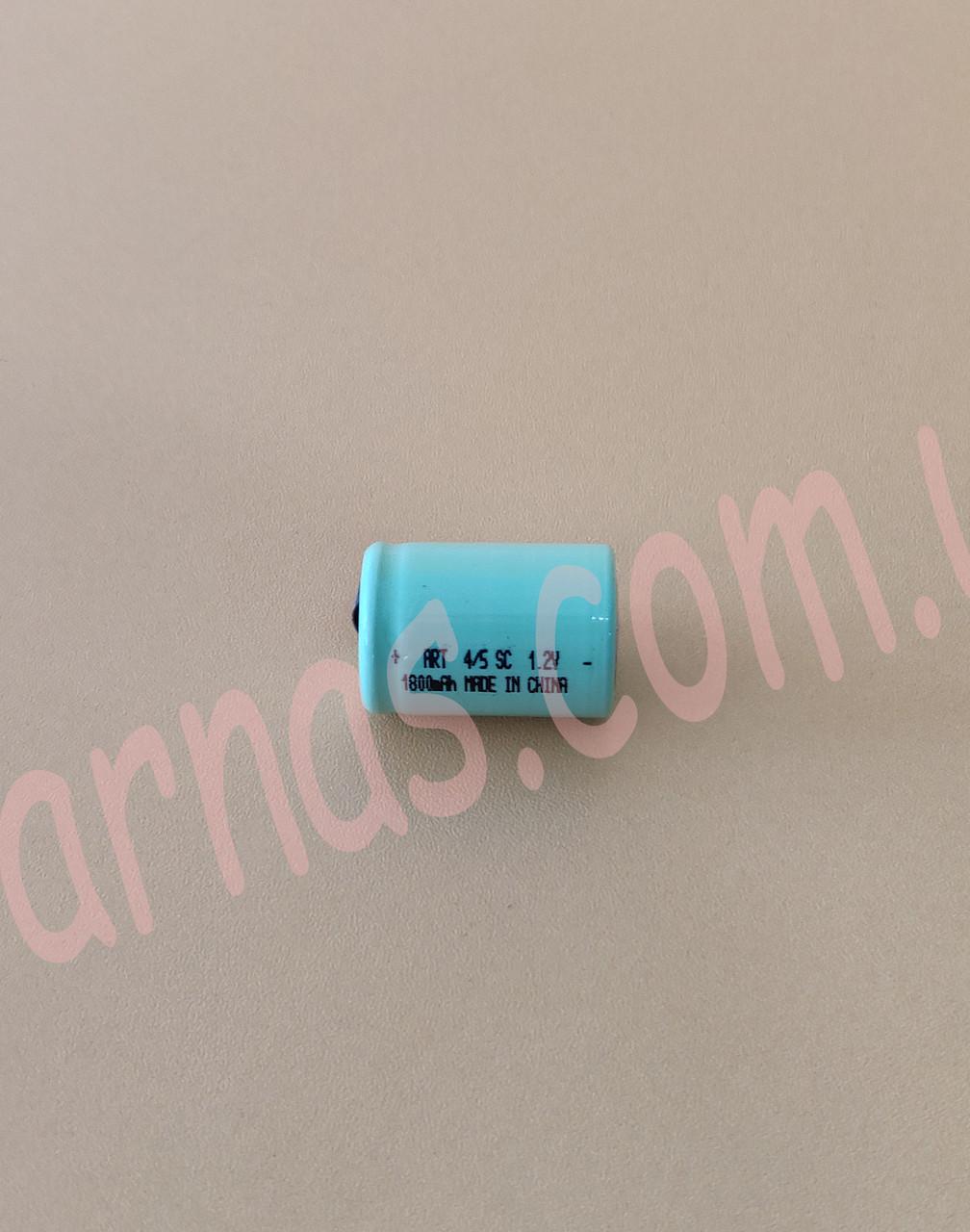 Аккумулятор ART 4/5SC 1.2v 1800 mAh