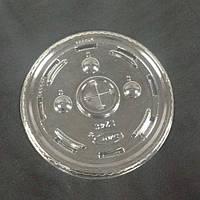 Крышка прозрачная c крестиком к стаканам 41913 500 мл100 шт/уп