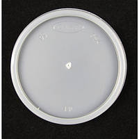Крышка пластиковая прозрачная универсальная для стакана 4J4 100 шт/уп