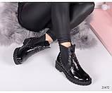 Ботиночки челси лаковые, фото 4