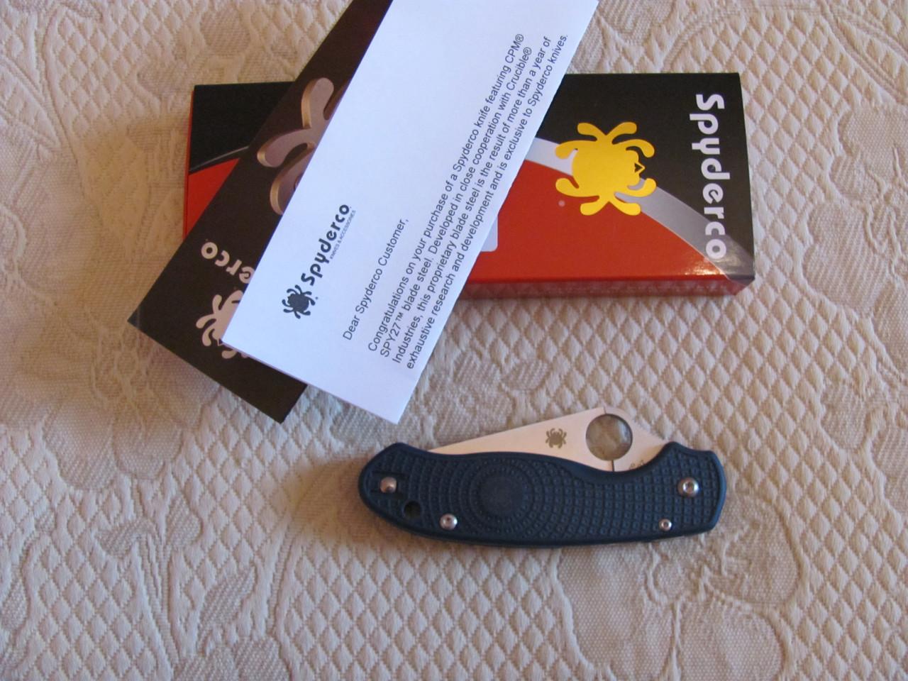 Нож Spyderco Para 3 Lightweight  сталь CPM SPY27  C223PCBL