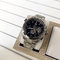 Наручные часы в стиле TAG Heuer Grand Carrera Calibre 36 RS Steel Silver-Black