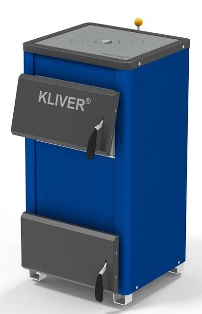 Твердотопливные котлы KLIVER  Котел Кливер 18П (плита)