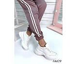 Женские кроссовки из натуральной кожи, фото 2