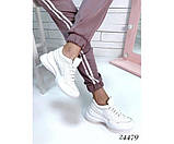 Женские кроссовки из натуральной кожи, фото 3