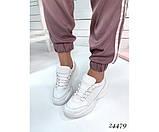 Женские кроссовки из натуральной кожи, фото 7