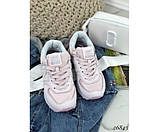 Кроссовки  NB кожаные вставка сетка, фото 5