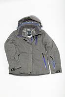Куртка Freever женская серая с фиолетовым 7013