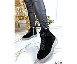 Ботинки на шнурках, тракторная подошва, фото 3
