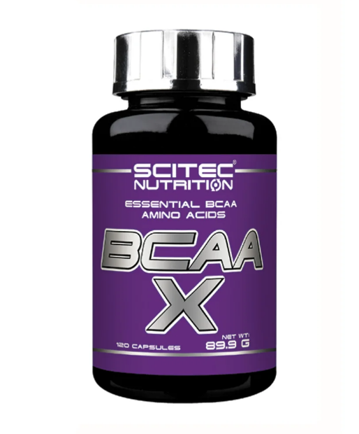 BCAA X SCITEC NUTRITION 120 КАПСУЛ