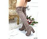 Ботфорты на устойчивом каблуке, фото 5