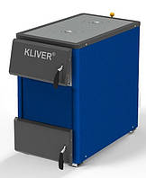 Твердотопливный котел  KLIVER (Кливер) 25П с плитой, фото 1