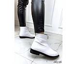 Женские ботинки молния спереди, фото 2