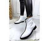 Женские ботинки молния спереди, фото 3