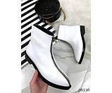 Женские ботинки молния спереди, фото 4