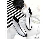 Женские ботинки молния спереди, фото 5
