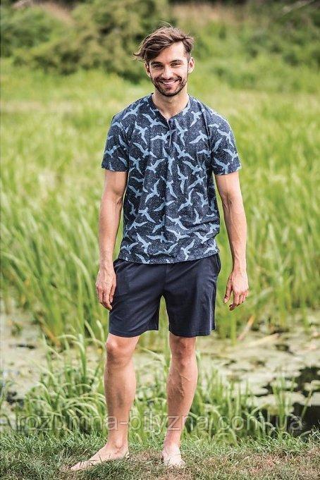 Комплект чоловічий футболка+шорти. ТМ Key. XXL