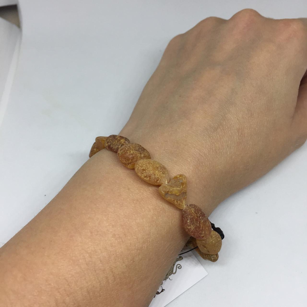 Янтарь браслет натуральный лечебный янтарь браслет с янтарем на резинке Украина