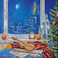 """Схема для вышивания бисером на художественном холсте """"Музыка ночи"""""""