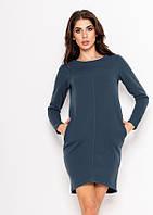 Платья ISSA PLUS 9155 S голубой