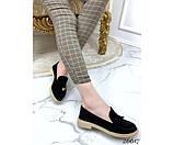 Туфли лоферы с украшением, фото 2